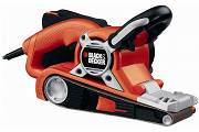 Black&Decker Szlifierka taśmowa  75x195mm 720W  KA88-QS